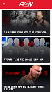 Ringside News App- screenshot thumbnail