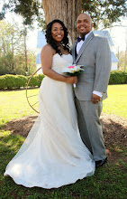 Photo: Newlyweds!  http://WeddingWoman.net