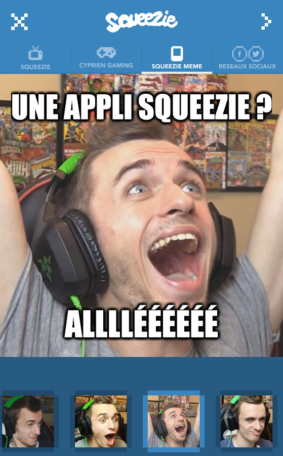Squeezie – Capture d'écran