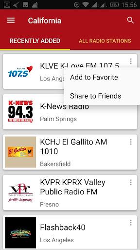 California Radio Stations 1.0.0 screenshots 1