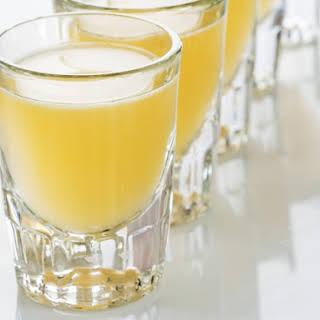 Orange Tic Tac Cocktail Shot.