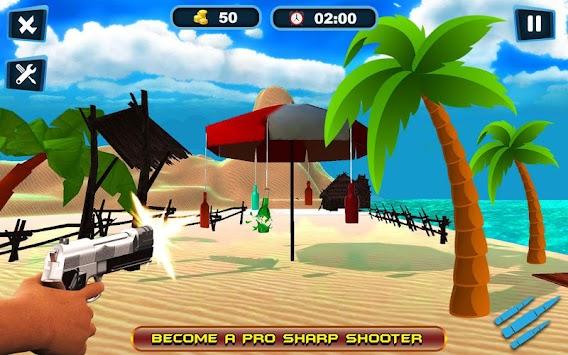 Bottle Neck Shooting 3D Expert Shooter apk screenshot