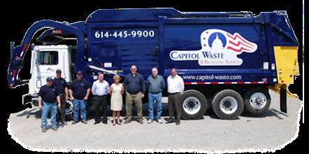 Photo: waste management columbus