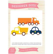 Echo Park Ephemera Dies Vehicles - Little Man