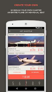 JetSmarter Private Jet Charter - náhled