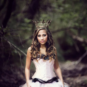 Queen When I Wanna Be - Shawnessy Ransom Photography © 2013 by Shawnessy Ransom - People Portraits of Women ( princess, dark forest, queen, royalty, senior portraits, beautiful ladies )