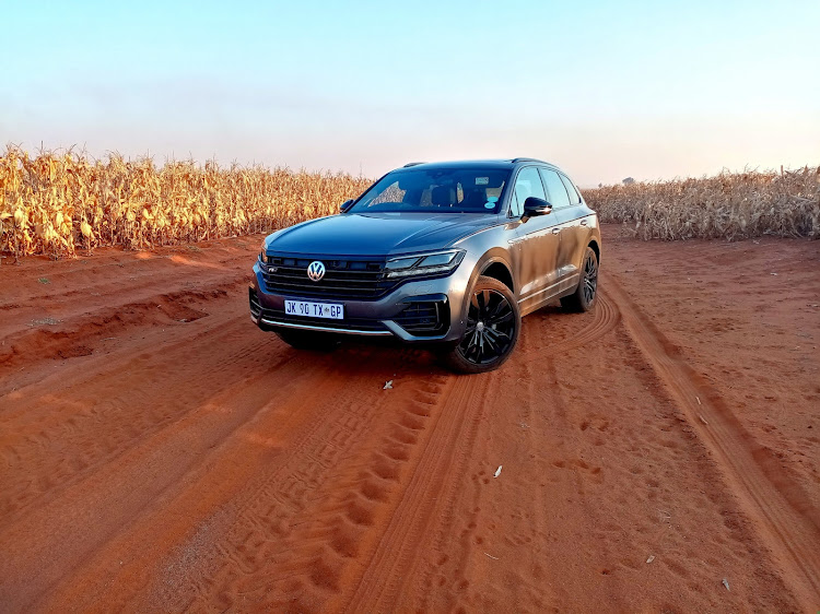 Touareg is a cushy, practical and brilliantly executed take of the SUV recipe. Picture: PHUTI MPYANE