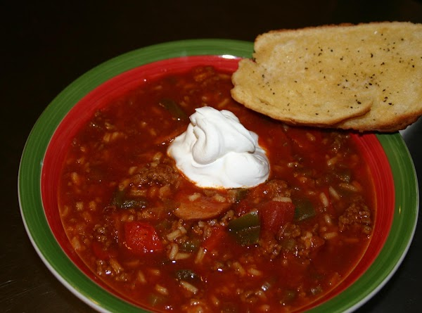 Stuffed Pepper And Sausage Soup Recipe