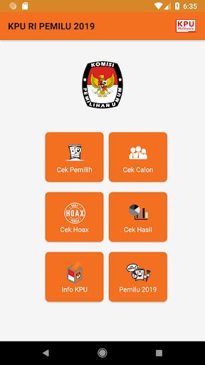 KPU RI PEMILU 2019 2.0.1 Screenshots 2