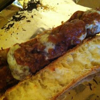 Garlic Bread Meatball Sandwiches {Gluten Free}.