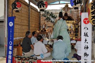 Photo: 【平成20年(2008) 宵々宮】  厳粛な雰囲気のもと、御霊入れの儀。