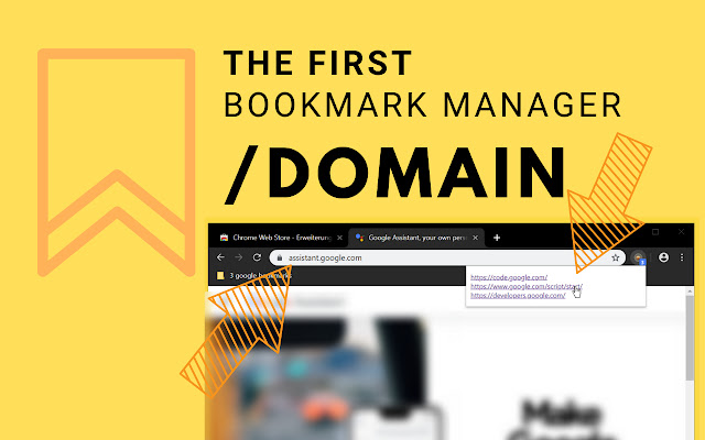 Bookmark Manager per Domain and Page