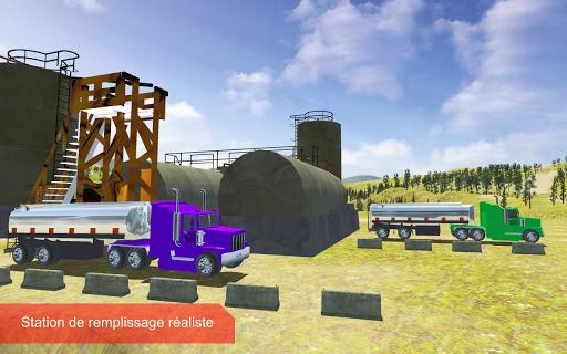 pétrole cargo camion au volant APK MOD (Astuce) screenshots 4