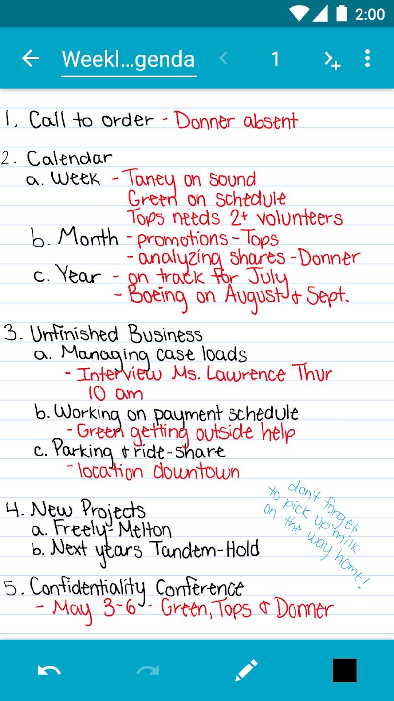 Squid - Take Notes & Markup PDFs Screenshot 2