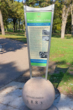 Photo: Sunday, October 8, 2017: Our tour started in Minnehaha Park, which was established in 1883. (See next photo to read text.)