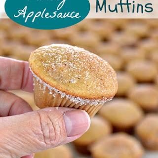 Chunky Applesauce Muffins Recipe