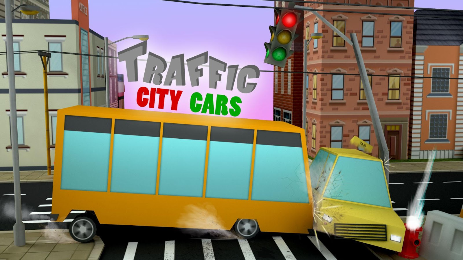 Traffic city cars- screenshot