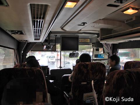西鉄 4012 博多バスターミナル発車