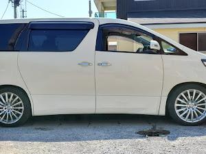 アルファード ANH25W 親車 240S タイプゴールド 4WDのカスタム事例画像 青森県のタイプゴールドさんの2019年08月04日14:33の投稿