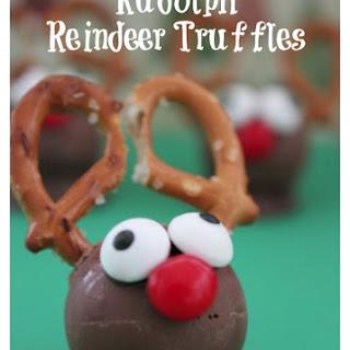 Easy Rudolph Reindeer Truffles.