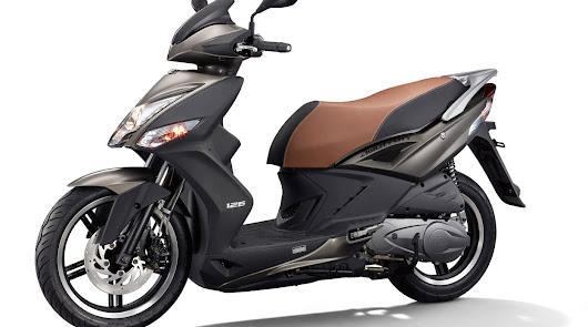 Ortiz Motos  presenta el Kymco Agility 125  scooter de rueda alta