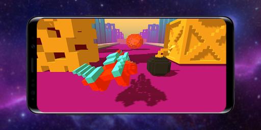 Télécharger Gratuit Infinity Racer: Spaceship Game 3D apk mod screenshots 2