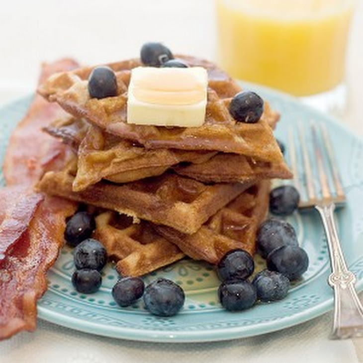Cinnamon Brown Sugar Waffles Recipe | Yummly