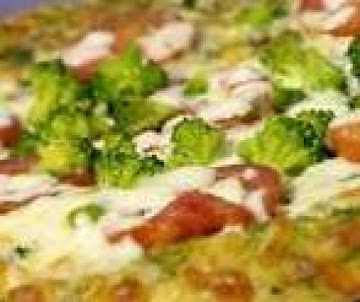 Fresh Vegetable Pizza Recipe