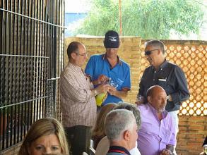 Photo: Preparando bautizo de Belmonte y Gumer