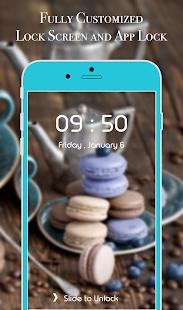 App Lock Theme - Macaron - náhled