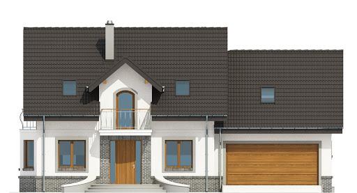 Dom Dla Ciebie 3 z garażem 2-st. A3 - Elewacja przednia