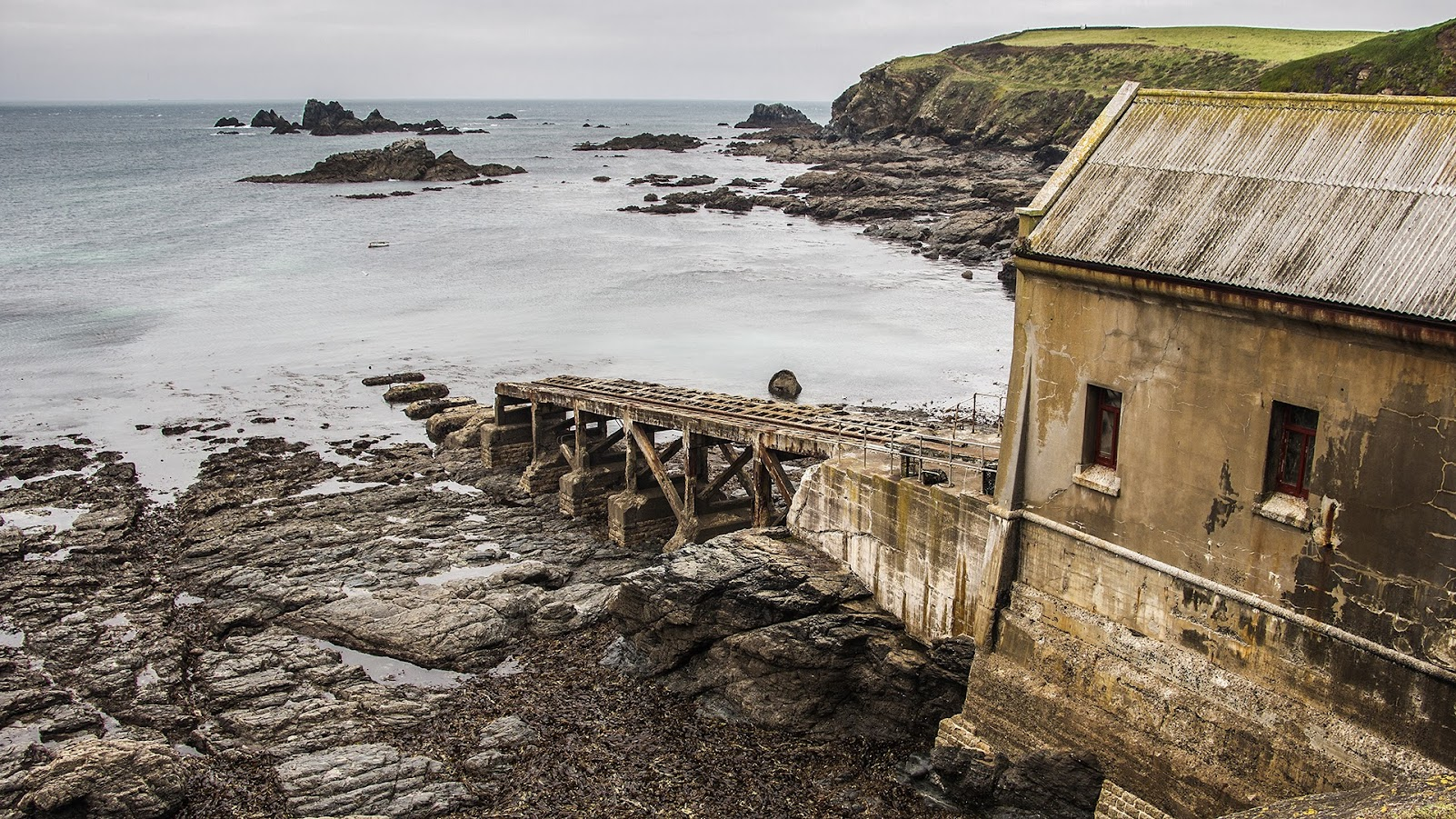 Old Lifeboat Station, Lizard, Cornwall.
