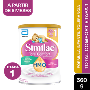 Formula Infantil Similac Etapa 1  Total Comfort ProSensitive 0-12 Meses x360g