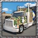 Big Army Trucks Parking 3D icon