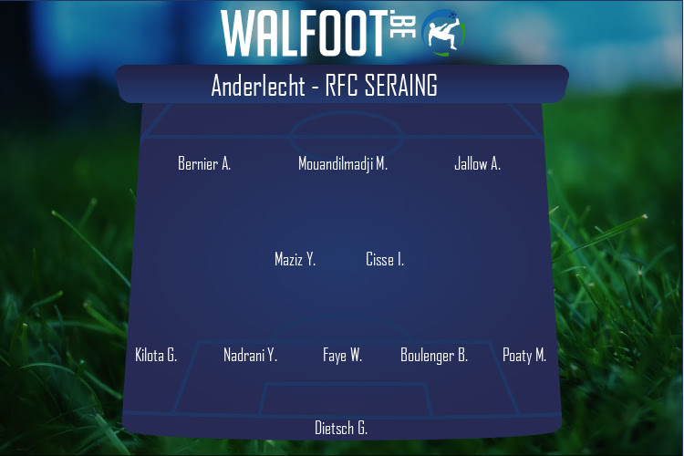 RFC Seraing (Anderlecht - RFC Seraing)