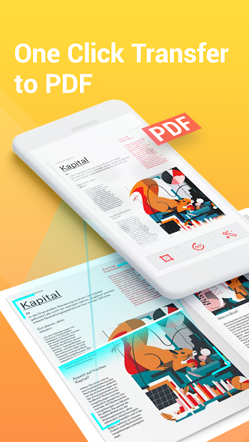 Smart Scanner - PDF Scan, Free Files Scanning Android App Screenshot