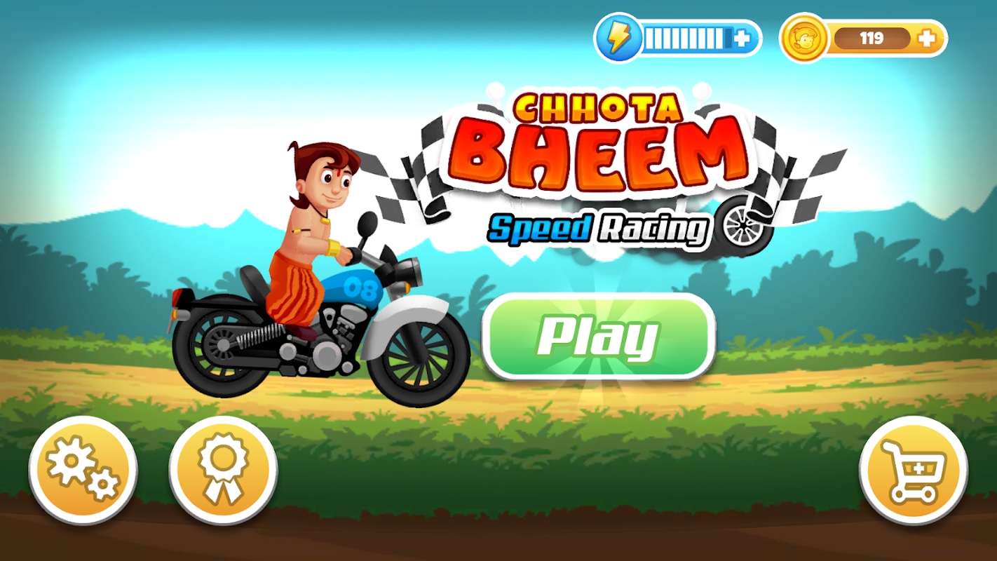 Chhota bheem running offline game for android phone
