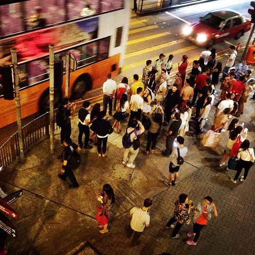 街頭, 香港, 中環, 街角, hong kong, central, street corner