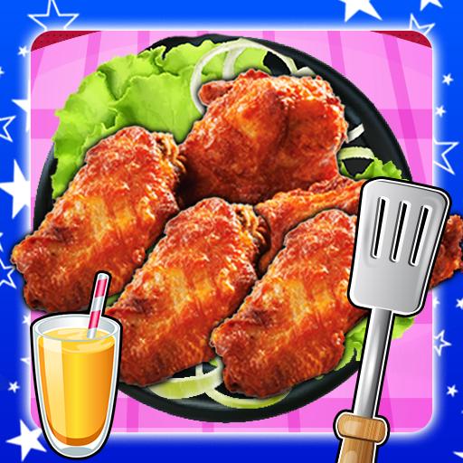 Deep Fry Chicken Wings Maker (game)