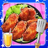 Fry hãng Wings gà sâu