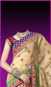 Pattu Saree Photo Suit screenshot 14