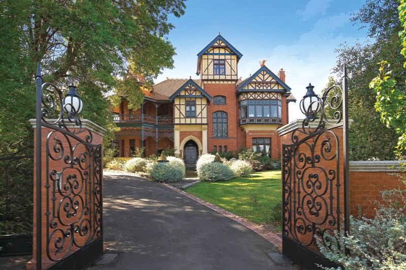 Talana is the most elaborate Queen Anne residence in Melbourne