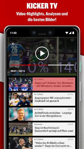 kicker Fußball News 6.6.0 screenshots 5