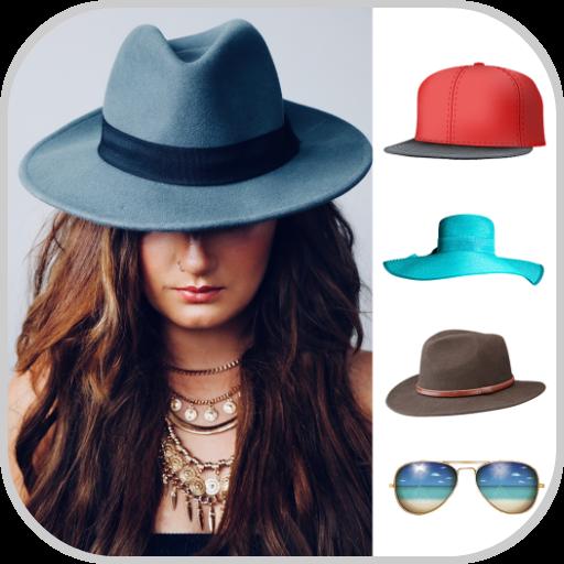 Cap Photo Editor: Hat Pic Editing App Icon