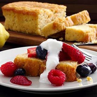 Paleo Lemon Pound Cake.
