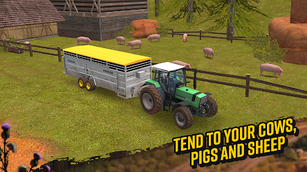 Farming Simulator 18 1.1.0.1 CRACKED Apk + DATA 4