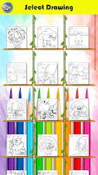 Coloring Pages For Crazy Trolls APK screenshot thumbnail 4