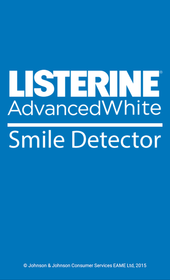 LISTERINE® Smile Detector- screenshot