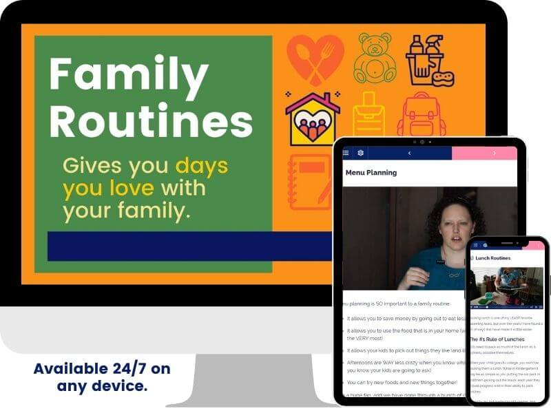 Family Routines Course