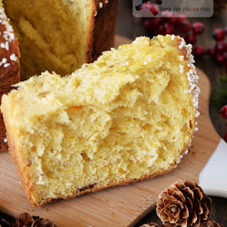 The Aromatic and Luxurious Saffron Panettone with Pearl Sugar Topping